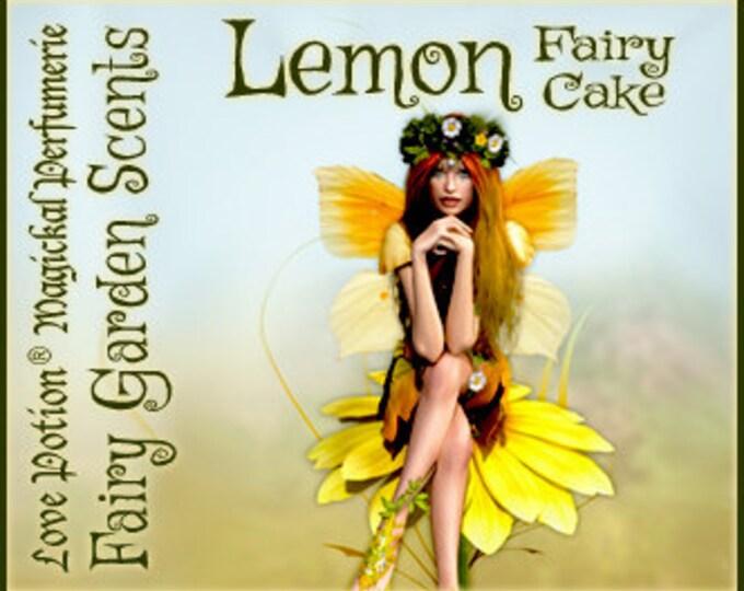 Fairy Cake: Lemon - Sweet & Youthful Layerable Perfume - Love Potion Magickal Perfumerie
