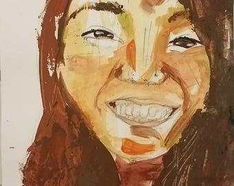 Quirky portrait