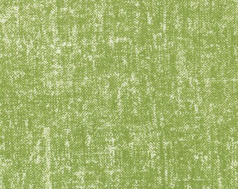 CLEARANCE - Simple Style by V and Co for Moda Fabrics Texture Solid Tweed in Lime Green 1 Yard Cut