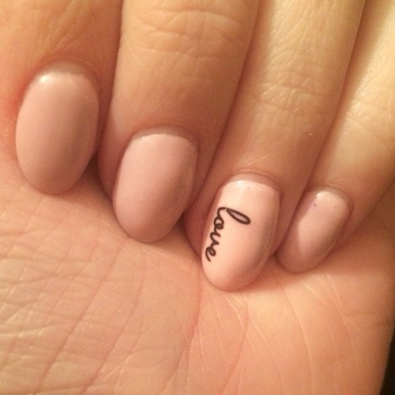 Love nail decals from PaipurNails on Etsy Studio