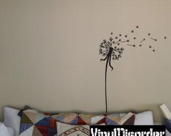 Dandelion Vinyl Wall Decal Or Car Sticker - Mv008ET