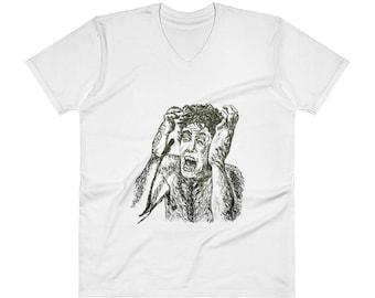 TRANSFORMATION V-Neck T-Shirt