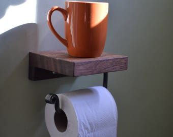 The World's First Practical Toilet Paper Holder: Custom Peu-Brew Classic Deluxe