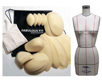 Fabulous Fitting System for Dress Form