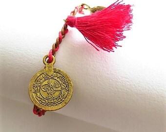Braided bracelet 17551
