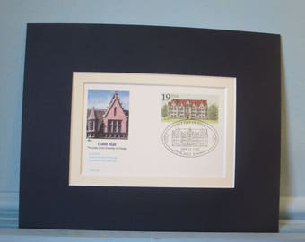 The University of Chicago founded 1892 featuring Cobb Hall & 100th Anniversary First Day Cover