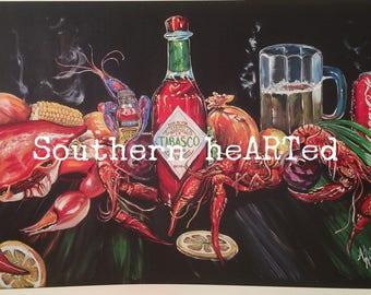 Cajun art prints