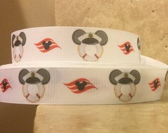 5 YDS White Buoy Ribbon