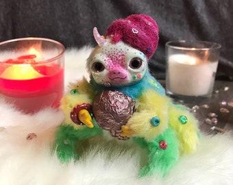Custodian of sweets / Sweet monster / Rainbow Spider / Candies / Ice-cream