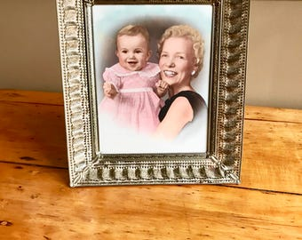 Vintage Frame Brass Picture Frame Antique Frame Brass Frame Vanity Tray Wedding Frame Old Frames Metal Frame Art Frame Ornate Frame for Art