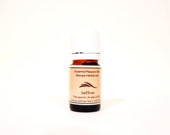 Saffron Essential Oil  Absolute    You pick strength and size