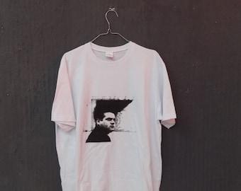 Eraserhead -Hand Screen Print, White T-shirt