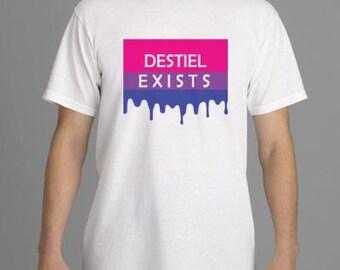 Destiel Exists T-shirt
