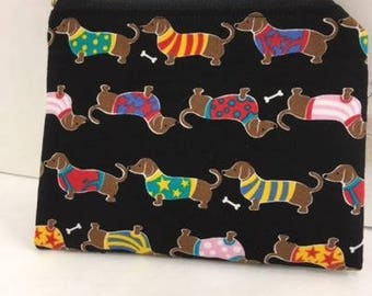Small Zippered Doxie Bag
