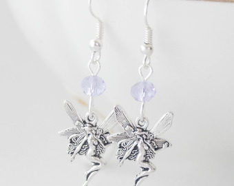 Fairy Earrings, Fairy Jewelry, Fairy Princess, Fairy Gift, Birthstone Earrings, Fantasy Earrings, FairyAccessories, Faerie, Fairy Cosplay