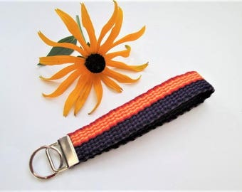 Handwoven Key Chain/Fob, Small Camera Wrist Strap, Luggage ID