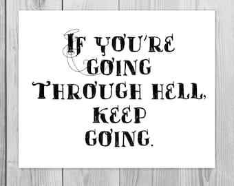 Inspirational Quote, Inspirational Art Quote, Inspirational Print, Motivational Art, Quote Art, Motivational Print, 8x10 Art Print