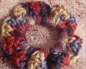Crochet Hair Scrunchie, Crochet Scrunchie, Crocheted Scrunchie, Scrunchies, Crochet Hair Tie, Hair Scrunchies, Crochet Ponytail,