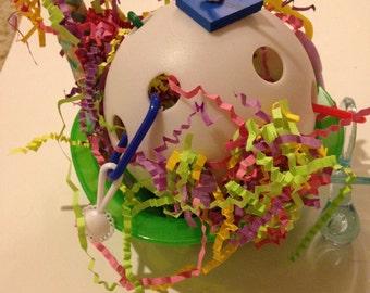 Bird Activity Bowl Toy-Ball, Wiffle Ball Foot Toys New
