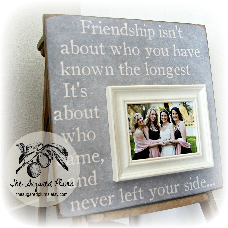 Best Friend Best Friend Gift Best Friend Picture Frame