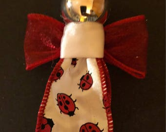 Lady Bug Ornaments or magnet (your choice) MADE TO ORDER