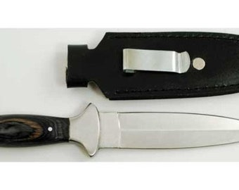 Black Handled Athame Dagger w/ Sheath Wicca Pagan Ritual Ceremonial Blade Knife Free Domestic Shipping!
