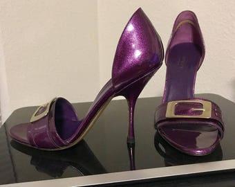 Purple Gucci Heels/Pumps