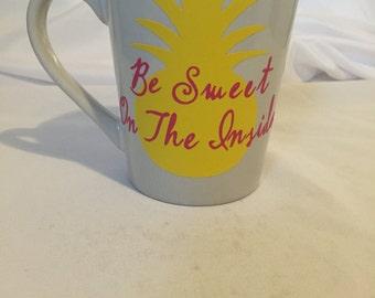 Be sweet on the inside mug