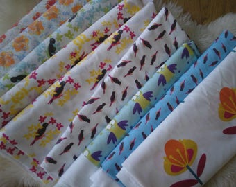 floral printed fabrics in limited editions