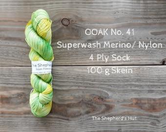 Superwash Merino/Nylon 75/25 Sock yarn 100 g OOAK No.41