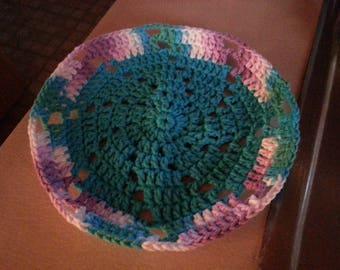 Round Crocheted Dish Cloth