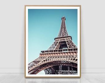 Eiffel tower print, Paris,Travel,France, printable photo, travel photography, famous place