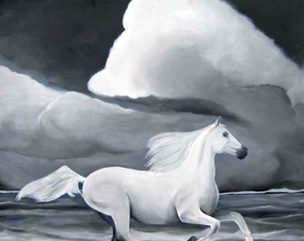 Cloud - Horse/Acrylic on canvas