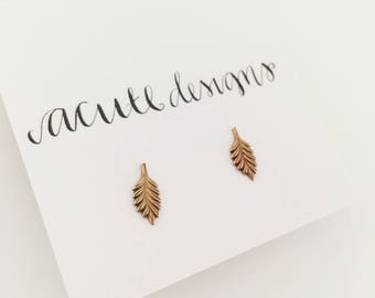 Little Leaf Studs, Help to save the earth