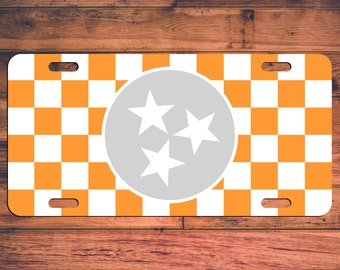 Tennessee VOLS License Plate TN Volunteers Car Tag - Rocky Top! Custom Car Plate - Personalized Customized Gifts Customize your own!