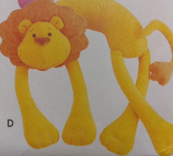 Long Leg Lion Neck Pillow