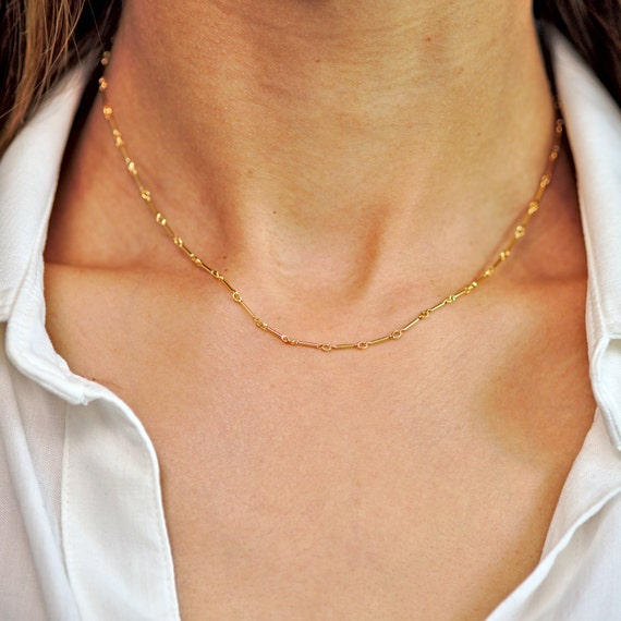 Delicate Gold Necklaces Landon Lacey Jewelry