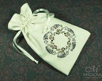 Tarot Bag Mandala 1 - runes dice crystals cards