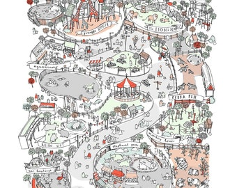 Print: A Map of the Zoo