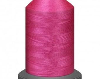 Pink thread, quilting thread, sewing machine thread, glide thread, sewing thread, 1000m cone, Flamingo thread, polyester thread