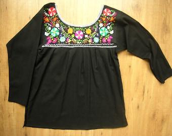 Puebla Blouse Long Sleeve