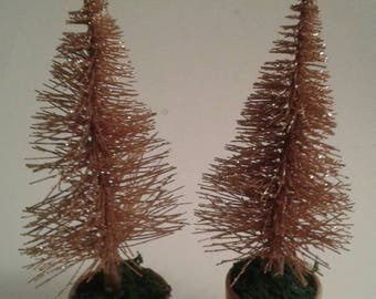 Pair of mini trees