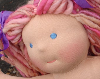 Waldorf Doll Custom  DEPOSIT, made to order. 12 or 15 inch Classic, Traditional Style