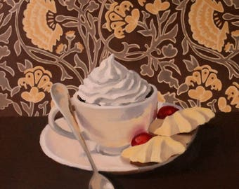 """Cappuccino with Cookies 