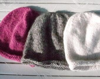 Color selection: Soft Merino/Alpaca Cap