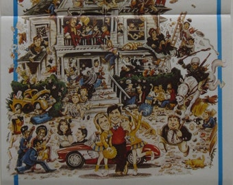 Animal House 1978 Original Australian movie daybill