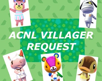 Animal Crossing New Leaf Villager Adoption Service