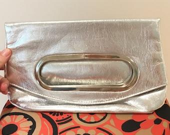 Vintage Silver Italian evening bag