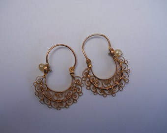 Gold mexican jewelry Etsy