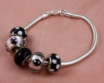 3 mm Snake Chain Sterling Silver Bracelet